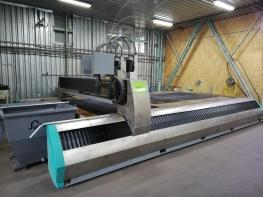 2 X Plasma and laser cutting machines